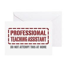 Professional Teaching Assistant Greeting Card