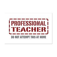 Professional Teacher Posters