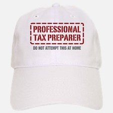 Professional Tax Preparer Baseball Baseball Cap