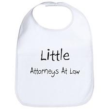 Little Attorneys At Law Bib