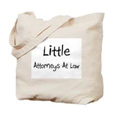 Little Attorneys At Law Tote Bag