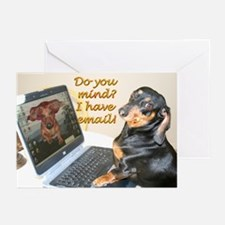 Lilys Computer Greeting Cards (Pk of 10)