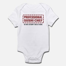 Professional Sushi Chef Infant Bodysuit