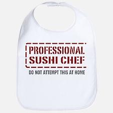 Professional Sushi Chef Bib