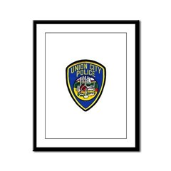 Union City Police Framed Panel Print