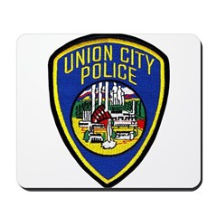 Union City Police Mousepad