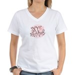 30TH BIRTHDAY Women's V-Neck T-Shirt