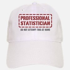 Professional Statistician Baseball Baseball Cap