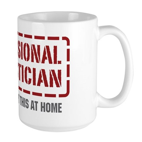 Professional Statistician Large Mug