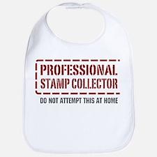 Professional Stamp Collector Bib