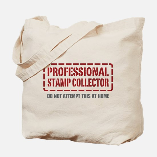Professional Stamp Collector Tote Bag