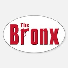 The Bronx,New York Oval Decal