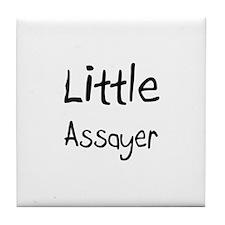 Little Assayer Tile Coaster