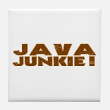 Java Junkie Tile Coaster