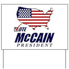 McCain Yard Sign