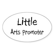 Little Arts Promoter Oval Decal