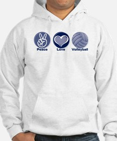 Peace Love Volleyball Hoodie