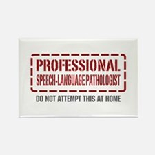 Professional Speech-Language Pathologist Rectangle