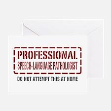 Professional Speech-Language Pathologist Greeting