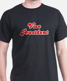 Retro Vice Presid.. (Red) T-Shirt