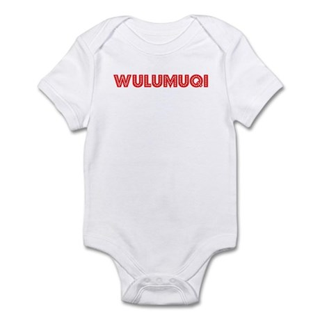 Retro Wulumuqi (Red) Infant Bodysuit