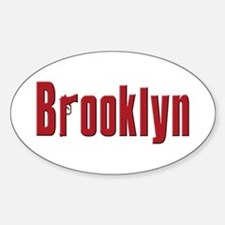 Brooklyn, New York Oval Decal