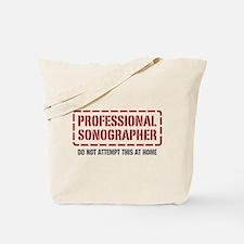 Professional Sonographer Tote Bag