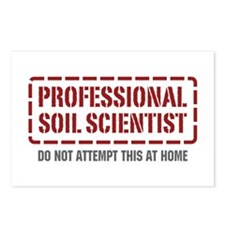 Professional Soil Scientist Postcards (Package of