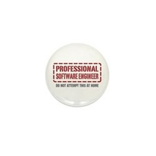Professional Software Engineer Mini Button (10 pac
