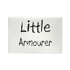 Little Armourer Rectangle Magnet