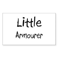 Little Armourer Rectangle Decal