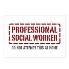 Professional Social Worker Postcards (Package of 8