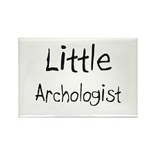Little Archologist Rectangle Magnet