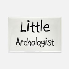 Little Archologist Rectangle Magnet