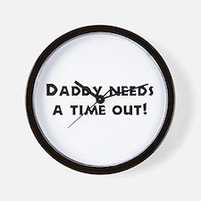 Fun Gifts for Dad Wall Clock