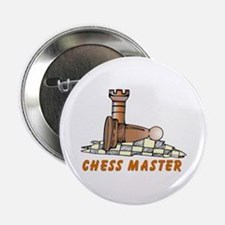 """Chess Master Dad 2.25"""" Button"""