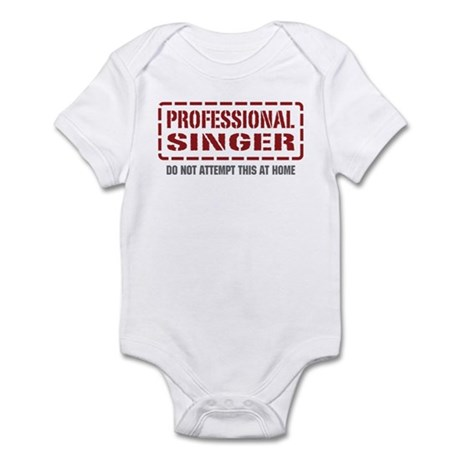 Professional Singer Infant Bodysuit