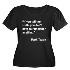 Mark Twain Truth Quote (Front) T