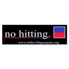 Kindergarten 101: No hitting.