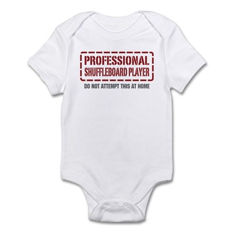 Professional Shuffleboard Player Infant Bodysuit
