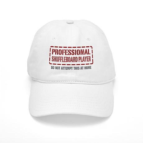 Professional Shuffleboard Player Cap