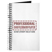 Professional Shuffleboard Player Journal