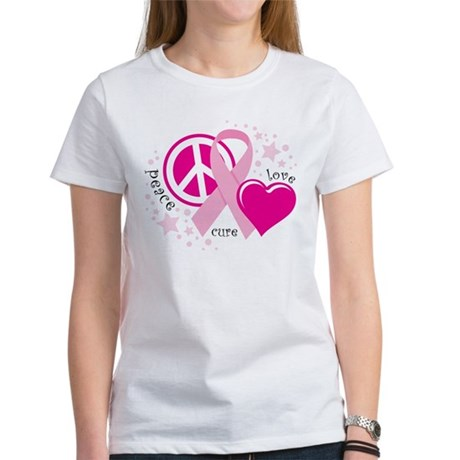 BC Peace Love Cure Women's T-Shirt