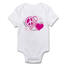 BC Peace Love Cure Infant Bodysuit