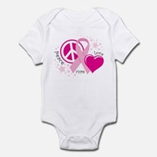 BC Peace Love Cure Infant Bodysuit