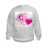 Breast cancer Crew Neck