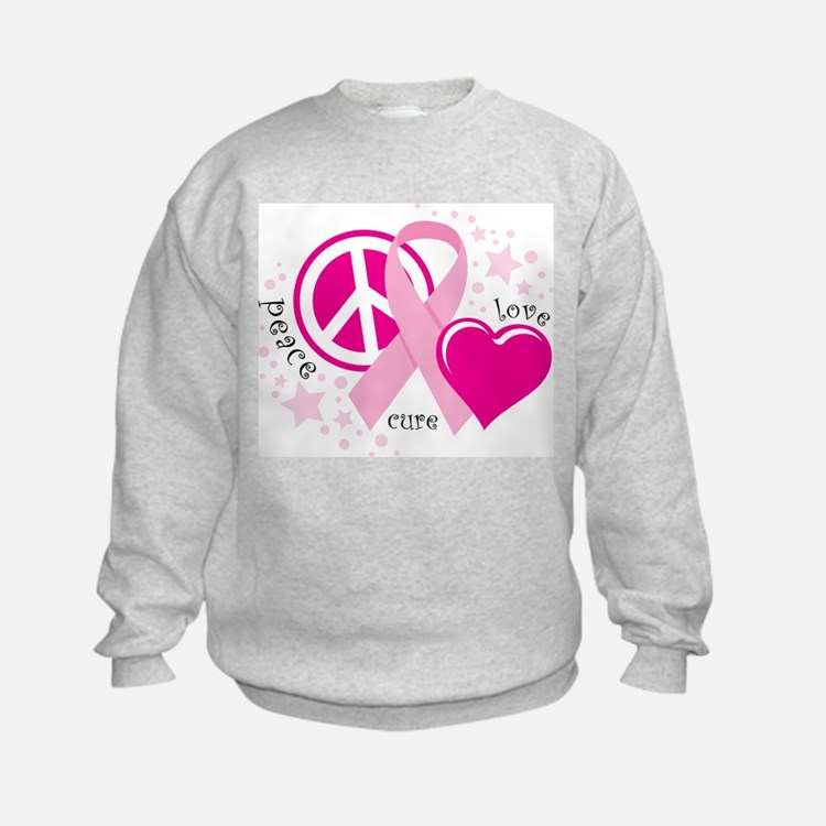 BC Peace Love Cure Sweatshirt