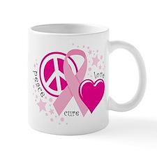 BC Peace Love Cure Mug