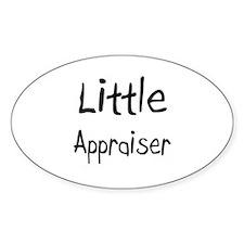 Little Appraiser Oval Decal