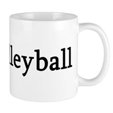 I Love Volleyball Mug